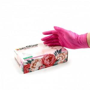 Перчатки нитриловые Розовые  M