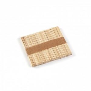 Шпатель деревянный мини 10мм*95мм (50шт)