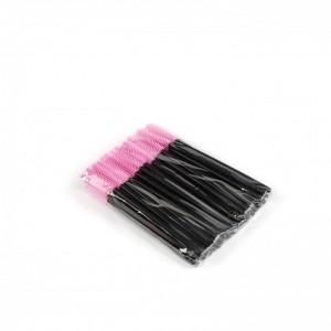 Щёточки силиконовые сиреневые с палочкой