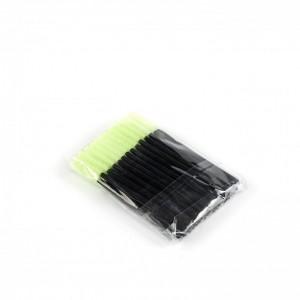 Щёточки силиконовые салатовые с палочкой