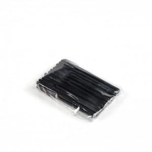 Щёточки силиконовые черные с палочкой