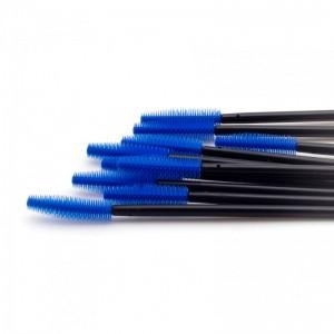 Щеточки силиконовые синие с черной палочкой