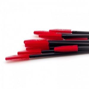 Щеточки силиконовые красные с черной палочкой