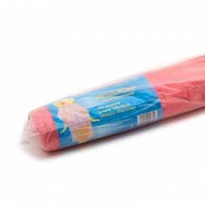 Пеньюар полиэтиленовый розовый рулон