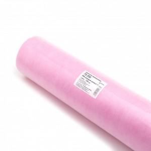 Простыня одноразовая 70*200 розовая в рулоне (100шт)